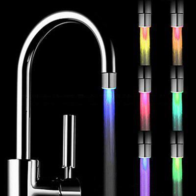 Chic LED Light 3 Colors Temperature Sensor Kitchen Faucet