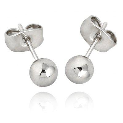 Pair of Vintage Ball Shape Stud Earrings