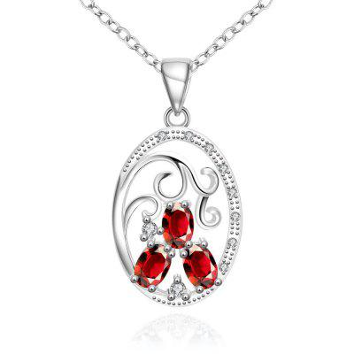 N109-B 925 Silver Plated Necklace Brand New Design Pendant Necklaces Jewelry for Women