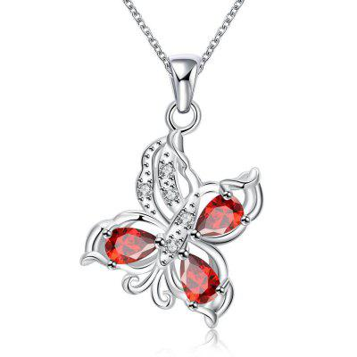N116-B 925 Silver Plated Necklace Brand New Design Pendant Necklaces Jewelry for Women