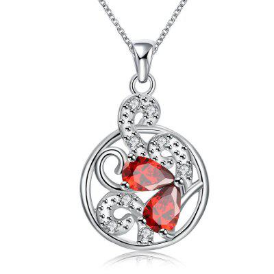 N120-B 925 Silver Plated Necklace Brand New Design Pendant Necklaces Jewelry for Women