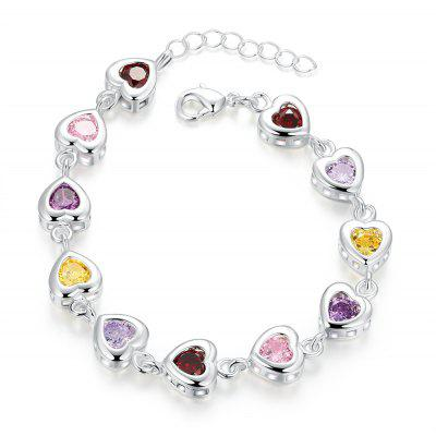 Girls Hearts Design Friendship Bracelet H368
