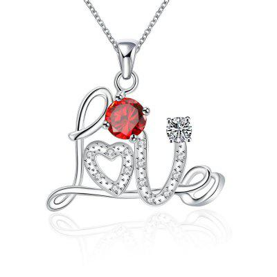 N126 - B 925 Silver Plated Pendant Necklace for Women
