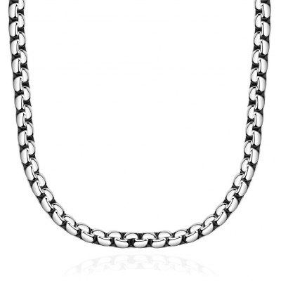N066 Western 316L Stainless Steel Necklace for Man