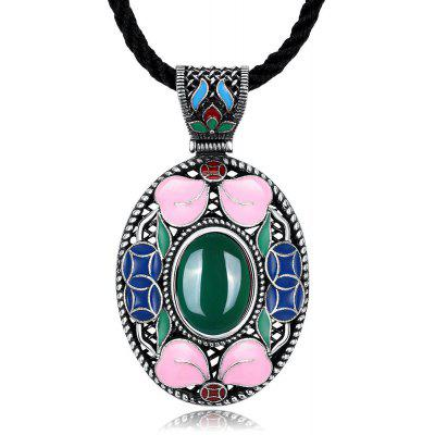 N001-C Women Vintage National Style Necklace