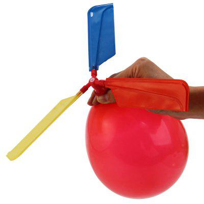 10 Pack Traditional Balloon Helicopter Flying ToysNovelty Toys<br>10 Pack Traditional Balloon Helicopter Flying Toys<br><br>Package Contents: 1 x 10 Pack Classic Balloon Helicopter Kids Child Children Play Flying Toy<br>Package size (L x W x H): 20.00 x 7.00 x 8.00 cm / 7.87 x 2.76 x 3.15 inches<br>Package weight: 0.110 kg<br>Product weight: 0.090 kg<br>Type: Balloons