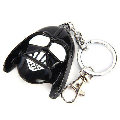 Durable Anime Mask Metal Delicate Key Ring