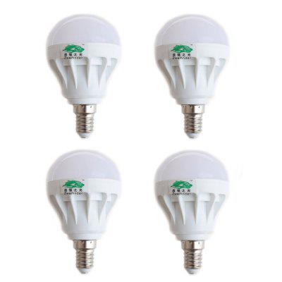 4 x Zweihnder 5W E14 500Lm SMD 5730 LED Light Bulb