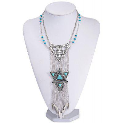 Egypt Exaggerated National Bohemia Retro Ladies Necklace