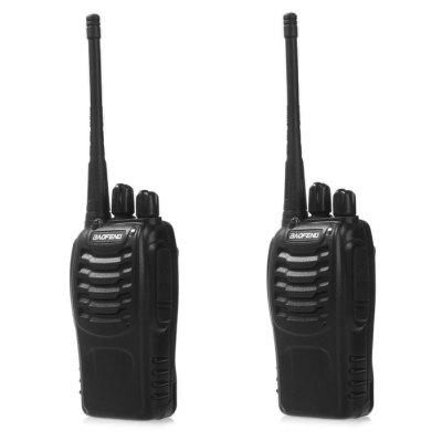 2pcs BAOFENG BF-888S Walkie Talkie