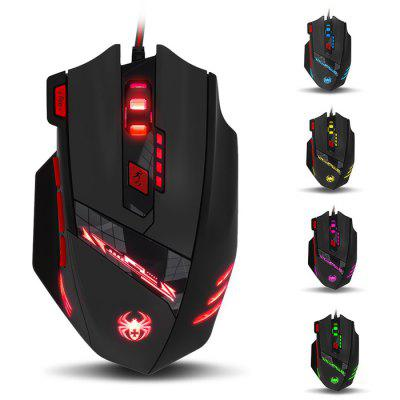 ZELOTES T-90 Wired USB Optical Game Mouse