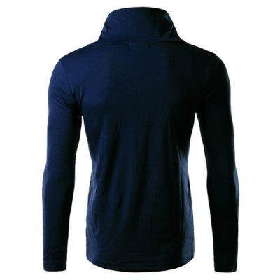 Cowl Neck Slimming Button Embellished Long Sleeve Mens T-ShirtMens Long Sleeves Tees<br>Cowl Neck Slimming Button Embellished Long Sleeve Mens T-Shirt<br><br>Collar: Cowl Neck<br>Embellishment: Button<br>Material: Cotton, Polyester<br>Package Contents: 1 x T-Shirt<br>Pattern Type: Solid<br>Sleeve Length: Full<br>Style: Fashion<br>Weight: 0.292kg