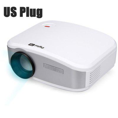 Cheerlux C6 LCD Projector with Digital TV