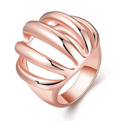 R745-B Nickle Free Antiallergic New Fashion Jewelry 18K Gold Plated Ring