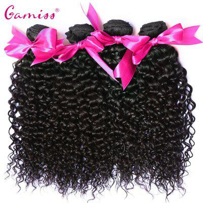 4pcs Virgin Hair Burmese Kinky Curly Extension Human Hair Weave
