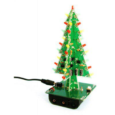 12off 3d christmas tree led learning set - Christmas Tree Deals