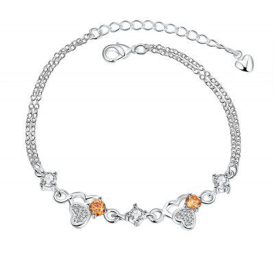 Fashion Close Heart Bracelet for Women