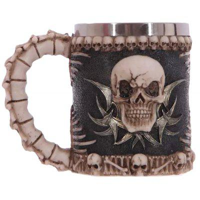 Creative Handled Skull Design 400ml Wine Coffee Tea Cup