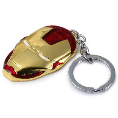 The Avengers-Iron Man Shaped Metal Key Chain