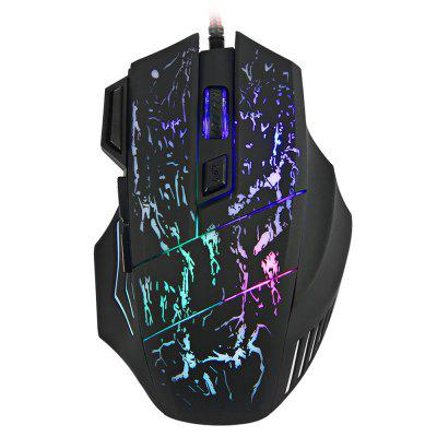 7 Buttons LED USB Wired Gaming Mouse