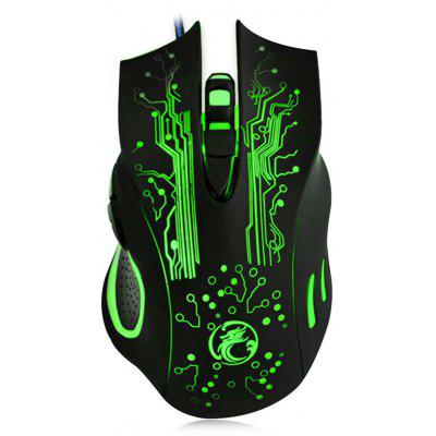 Estone X9 2400DPI LED Optical 6D USB Wired Gaming Mouse