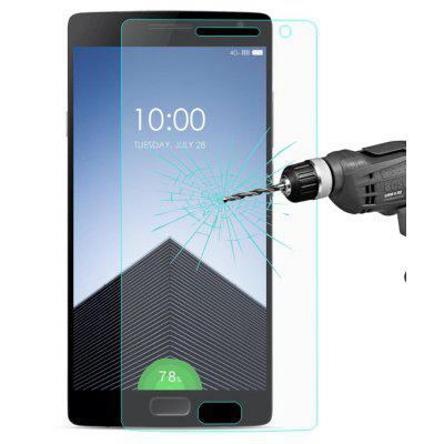 Buy TRANSPARENT Hat-Prince Protective Tempered Glass Screen Film for OnePlus Two for $4.42 in GearBest store