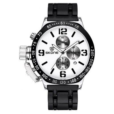 Skone 6586 Men Quartz Watch
