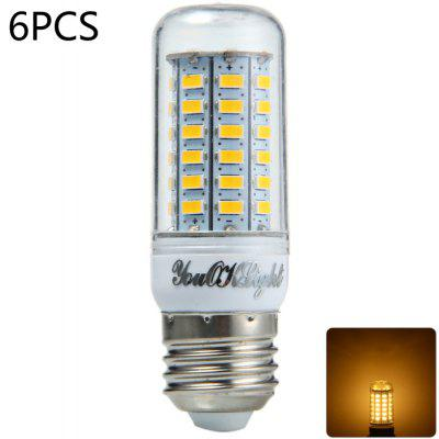 Buy 6PCS YouOKLight E27 15W SMD 5730 1350LM LED Corn Light WARM WHITE LIGHT for $22.26 in GearBest store