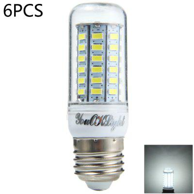 6 x YouOKLight 15W E27 1350Lm SMD 5730 LED Corn Lamp Bulb