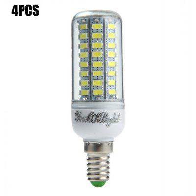 4 x YouOKLight E14 SMD 5730 15W 1500Lm LED Corn Light Bulb