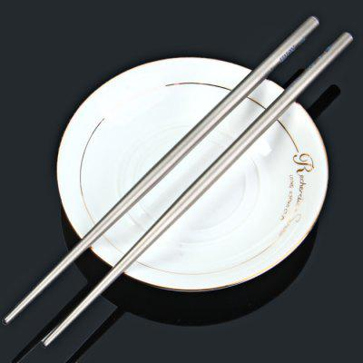 Keith Ti5620 Light Titanium Alloy Round Chopsticks