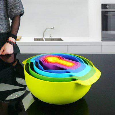 9PCS Multi-functional Storage Bowl
