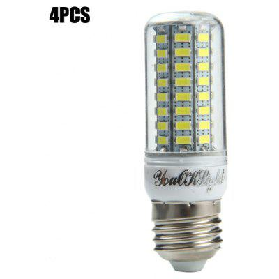 Buy 4pcs YouOKLight E27 15W SMD 5730 1500Lm LED Corn Light WHITE E27 for $16.60 in GearBest store