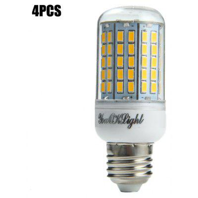 Buy 4PCS YouOKLight E27 SMD 5730 2000Lm 18W LED Corn Light Bulb WARM WHITE LIGHT E27 for $23.20 in GearBest store