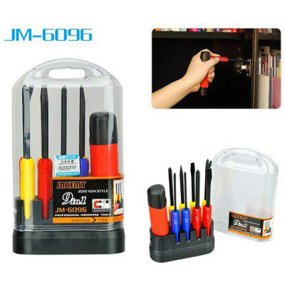 JAKEMY JM-6096 9 in 1 Screwdriver Kit Repair Tool