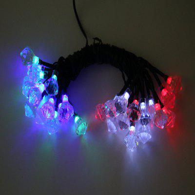 1.2W Christmas LED Diamond Shaped String Light