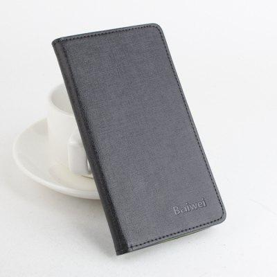 Delicate Pattern Design Leather Protective Cover Case Fitting for DOOGEE F5