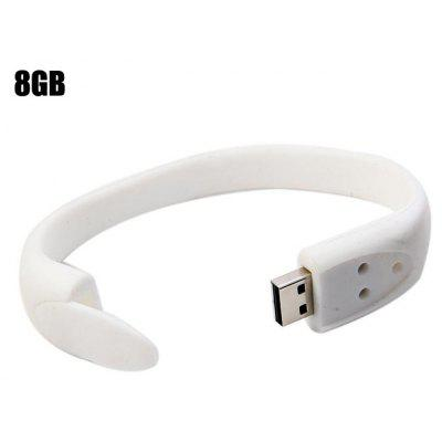 8GB USB 2.0 Flash Drive Bracelet Style