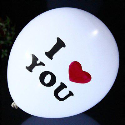 1pc Flashing LED Balloon Wedding Festival Christmas Ornaments