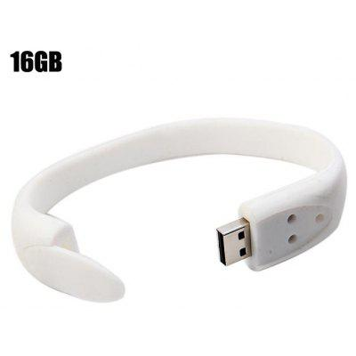 16GB USB 2.0 Flash Drive Bracelet Style