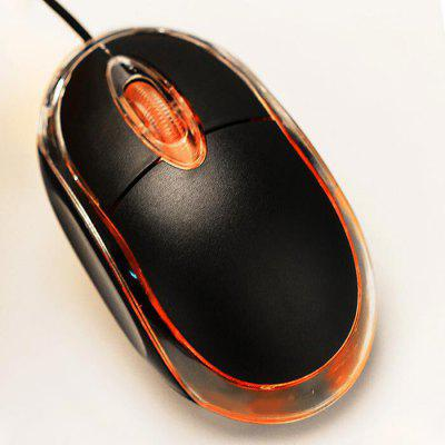 USB 2.0 Wired LED Optical Mouse