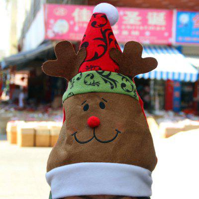 Lovely Elk Design Christmas Hat