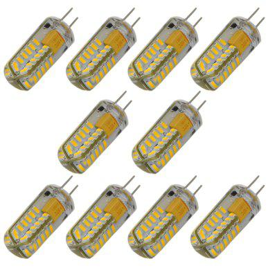 10 x 3.5W G4 SMD 3014 170Lm LED Corn Lamp ( AC / DC 12V )