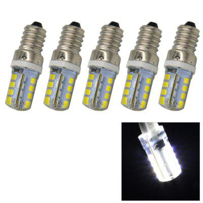 5PCS 3.5W E14 SMD 2835 240Lm LED Corn Bulb Light ( 6000K )