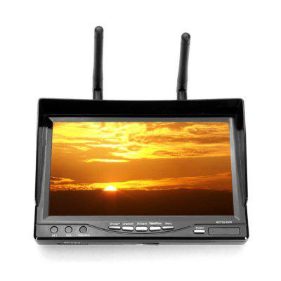 RC732 - DVR FPV 7 Inch 32CH FPV Monitor Built-in 5.8GHz Receiver 800 x 480 TFT LCD Screen with DVR