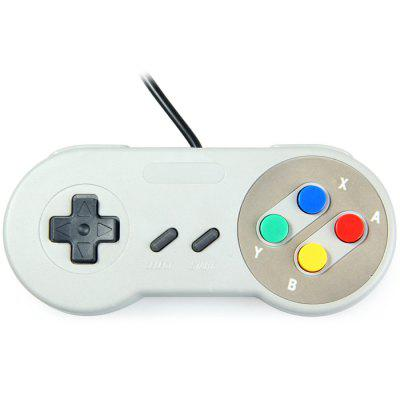Classic USB Controller for SNESMouse<br>Classic USB Controller for SNES<br><br>Features: Gaming<br>Interface: Wired<br>Package Contents: 1 x Classic USB Controller for SNES<br>Package weight: 0.146 kg<br>Product weight: 0.095 kg<br>System support: Nintendo