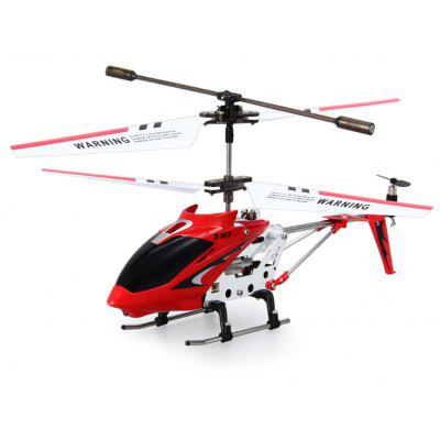 Gearbest Syma S107G 3CH Infrared Remote Control Helicopter Alloy Copter with Built - in Gyro
