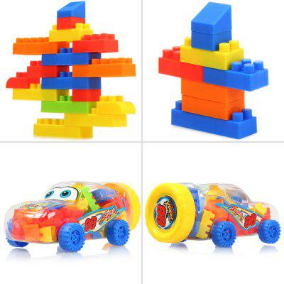 LELE BROTHER 58Pcs DIY Building Block IQ Training