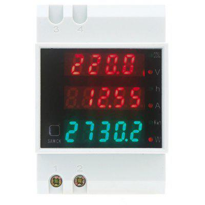 Buy D52-2047 AC 80 300V 100A Voltmeter Ammeter Power Meter WHITE for $18.03 in GearBest store