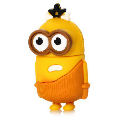 Big Eyes Bee-do Type 32GB USB 2.0 StickUSB Flash Drives<br>Big Eyes Bee-do Type 32GB USB 2.0 Stick<br><br>Available Color: Yellow<br>Capacity: 32G<br>Features: Cartoon<br>Interface: USB 2.0<br>Package Contents: 1 x Big Eyes Bee-do Type 32GB USB 2.0 Flash Memory Drive<br>Package size (L x W x H): 6.80 x 4.50 x 3.10 cm / 2.68 x 1.77 x 1.22 inches<br>Package weight: 0.055 kg<br>Product size (L x W x H): 4.80 x 2.50 x 2.10 cm / 1.89 x 0.98 x 0.83 inches<br>Product weight: 0.015 kg<br>Style: Cartoon<br>Type: USB Stick